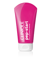 Mini Clinique Pep-Start™ 2-in-1 Exfoliating Cleanser